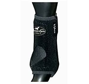 Professionals Choice Equine Sports Medicine Ventech Elite Front Leg Boot, Pair (Small, Black)