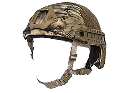 Amazon.com: Lancer Tactical rápido casco MH tipo HLD Tamaño ...