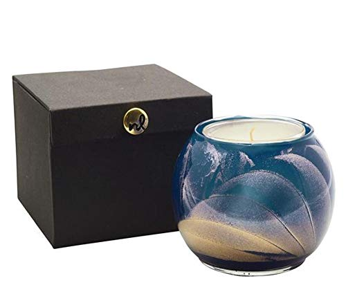 Esque Midnight 4 Inch Globe Candle Scented with Mysteria (Globe Fragranced Candle)