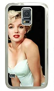 Marilyn Monroe-2 Diy For Iphone 5C Case Cover Transparent Sides Hard Shell by Sakuraelieechyan