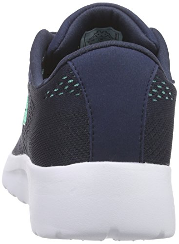 Kappa Delhi Footwear Unisex, Mesh - Zapatillas Mujer Blau (6737 navy/mint)
