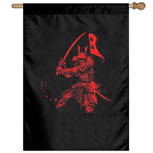 (Garden Flag Samurai Picture Lawn Banner Outdoor Yard Home Flag Wall Decoration Flag 27