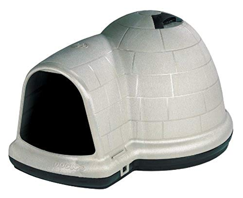 - Petmate Indigo Dog House All-Weather Protection Taupe/Black 3 sizes Available