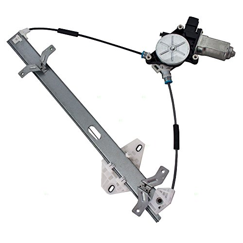 Passengers Front Power Window Lift Regulator with Motor Assembly Replacement for Honda Accord 72210SDAA02 ()