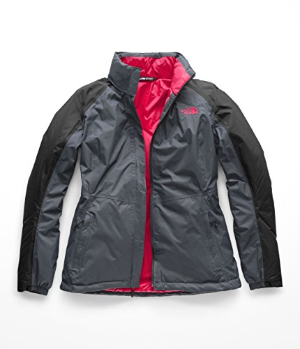 The North Face Women's Resolve Insulated Jacket Vanadis Grey/Asphalt Grey Small