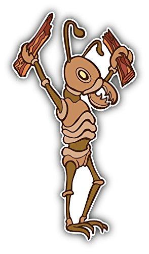 - Giant Termite Art Decor Bumper Sticker 3'' x 6''