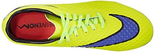 Nike Hypervenom Phelon FG, Scarpe da Calcio Uomo Viola / Amarillo