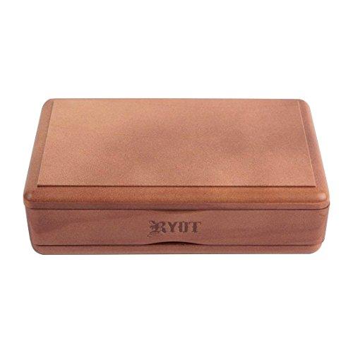 RYOT Solid Top Screen Box - Walnut Finish, 4' x 7'