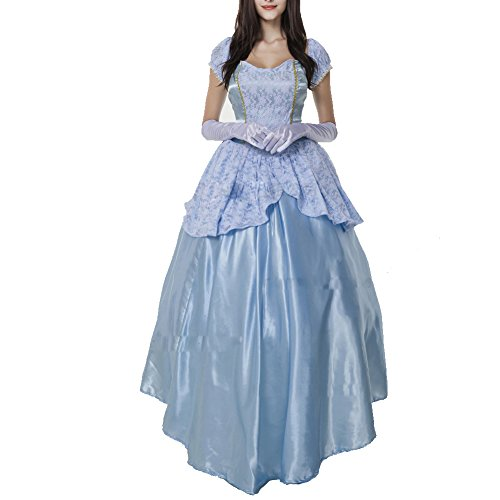 RedExtend Royal Court Sissi Princess Halloween Costume Prom Queen Empress XL (Royal Empress Adult Costume)