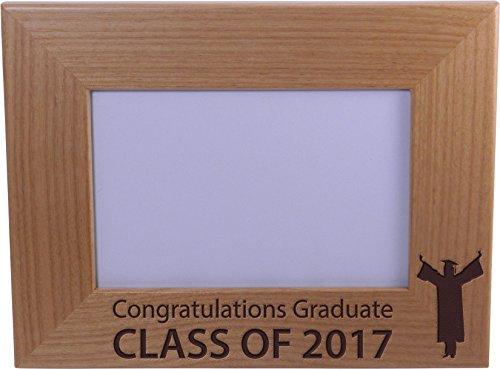 Congratulations Graduate Class Of 2017 - Wood Picture