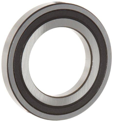 WJB 16006-2RS Deep Groove Ball Bearing, Double Sealed, Metric, 30mm ID, 55mm OD, 9mm Width, 2520lbf Dynamic Load Capacity, 1650lbf Static Load Capacity