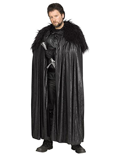 Winter Lord Cloak with Faux Fur Collar