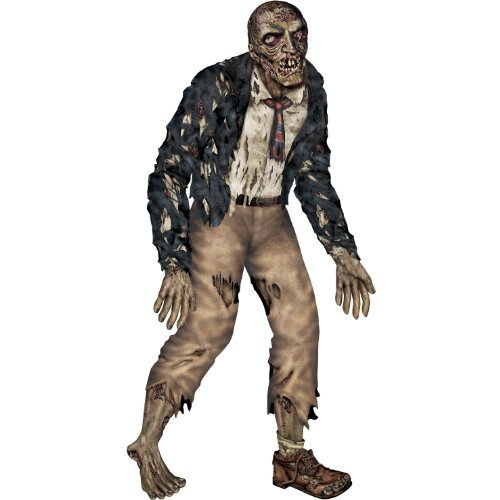 - The Beistle Company Jointed Zombie Cut Out Paper Decoration Multicoloured One Size