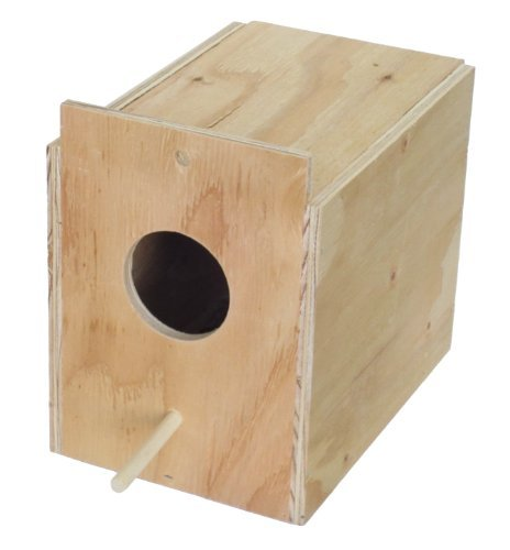 YML Assembled Wooden Nest Box for Outside Mount, Large by YML