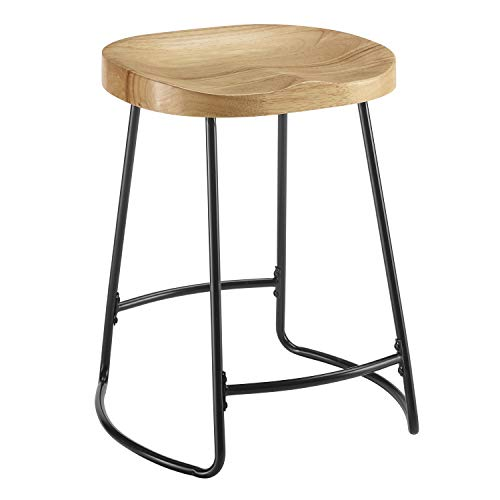 - Linon Tate Tractor Seat Counter Stool