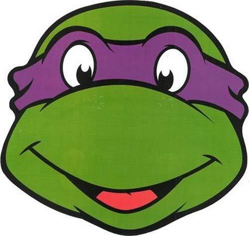 Careta cartón Donatello Tortuga Ninja? - Única: Amazon.es ...