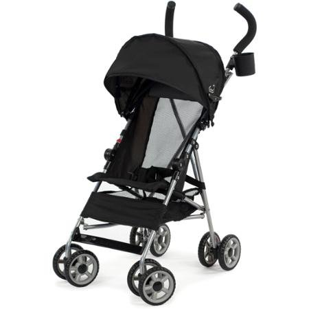 Kolcraft Cloud Umbrella Stroller, Black