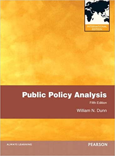 Public Policy Analysis: International Edition