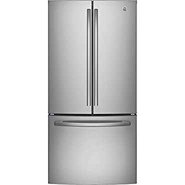 GE GNE25JSKSS French Door Refrigerator (Stainless Steel)