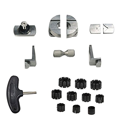 Euro Setting Tools Basic Set for Microblock Vise (Jura Tools) by Jura Tools