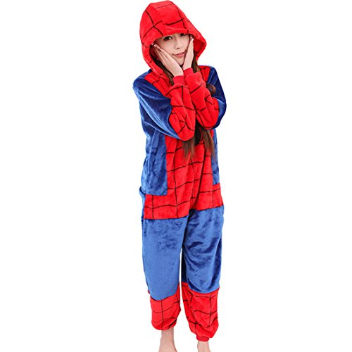 schuhe kinder hausanzug flanell mit amp d spiderman cool f r pyjama schlafanzug damen onesie. Black Bedroom Furniture Sets. Home Design Ideas