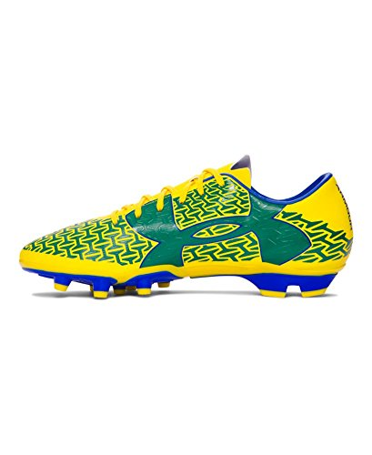 Under Armour Herren UA CF Force 2.0 FG Taxi Gelb / Team Royal / Classic Green