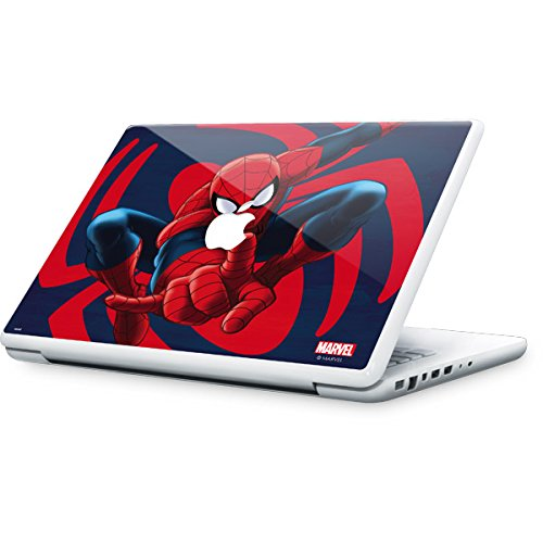 Skinit Marvel Spider-Man MacBook 13-inch Skin - Spidey Shooting Web Design - Ultra Thin, Lightweight Vinyl Decal Protection by Skinit