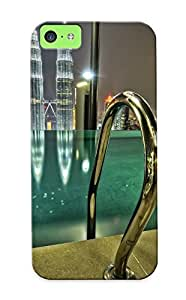 Favwin-4110-cjznthp Infinity Pool Kuala Lumpur Buildings Skyscrapers Pool Cities Awesome High Quality Iphone 5c Case Skin/perfect Gift For Christmas Day Kimberly Kurzendoerfer