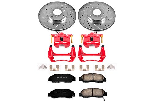 UPC 792088849724, Power Stop KC1237 1-Click Performance Front Brake Kit with Calipers