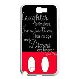 DDOUGS I laughter is timeless New Fashion Cell Phone Case for Samsung Galaxy Note 2 N7100, Customized I laughter is timeless Case