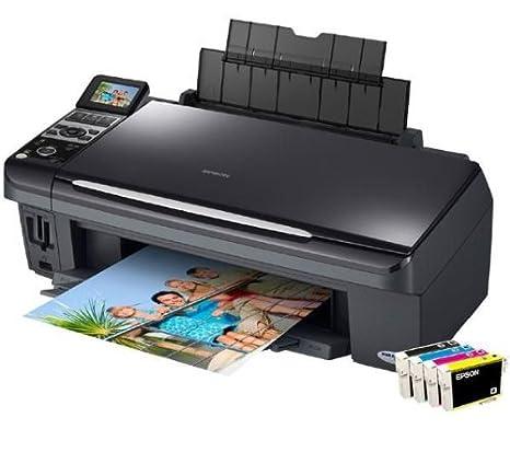 Epson Stylus DX8450 - Impresora multifunción (Inyección de ...