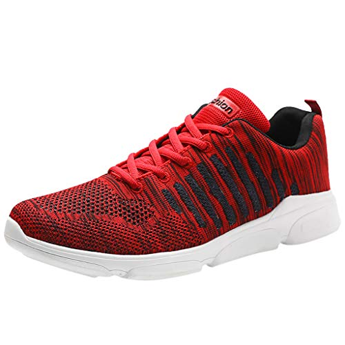 - JJLIKER Mens Mesh Walking Running Shoes Trainers Sports Tennis Shoes Comfy Breathable Lightweight Sneakers