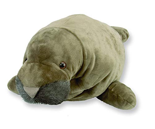 Wild Republic Jumbo Manatee Plush, Giant Stuffed Animal, Plush Toy, Gifts for Kids, 30 - Wild Childrens Republic Pillows