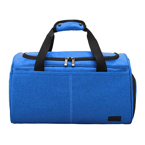 MarsBro Water Resistant Sports Travel Bag With Shoe Compartment