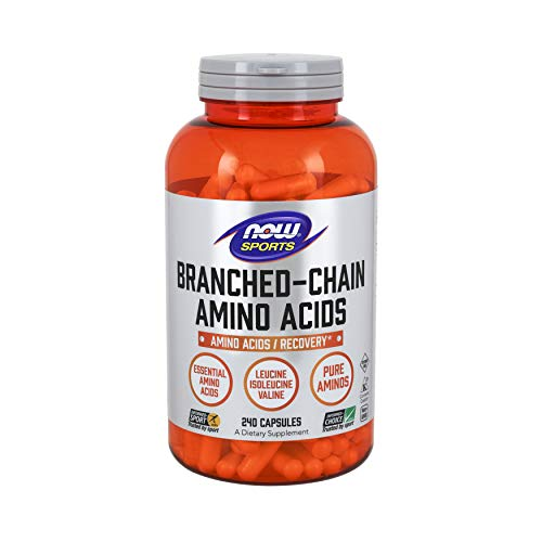 Now Sports Nutrition, Branched Chain Amino Acids, 240 Capsules (Best Amino Acid Product)