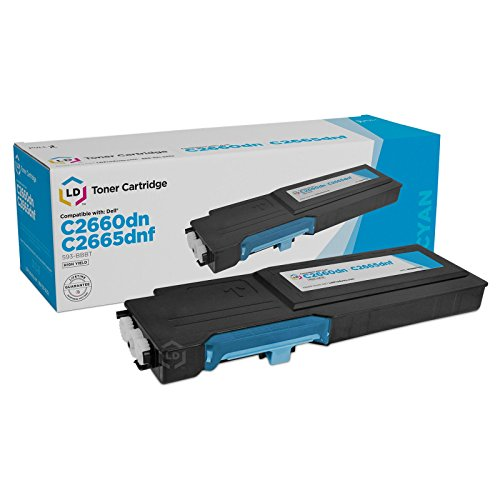 LD Compatible Toner Cartridge Replacement for Dell 593-BBBT High Yield ()