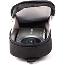 SAMSONITE Small Black Camera Pouch For Samsung ST95, ST88, ST65 & SH100, Pentax Optio LS1100 & RS1000 Chameleon