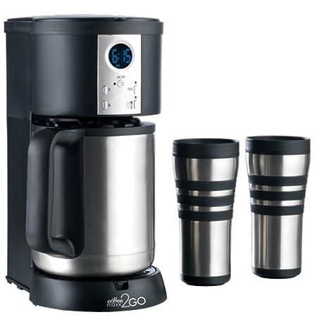 TV Das Original 01141 Coffeemaxx 2 Go térmica Star Duo Cafetera ...