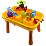 Quickdraw Childrens Sand and Water Activity Play Table with Accessories
