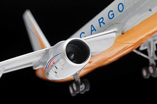 "ZVEZDA 7031 - Russian Cargo Airplane TU-204-100C - Plastic Model Kit Scale 1/144 139 Parts Lenght 14½"" / 36.9 cm 5"