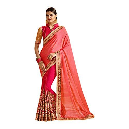 Sari Indiano Ethnic Jari Seta Emporium Etnico Tradizionale Abito Saree Donna Richlook Latest Da 740 Sposa Partywear Matrimonio 8nOX0Pkw