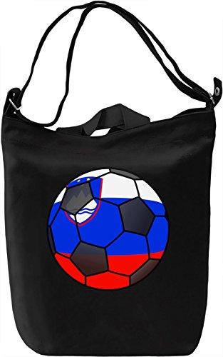Slovenia Football Borsa Giornaliera Canvas Canvas Day Bag  100% Premium Cotton Canvas  DTG Printing 