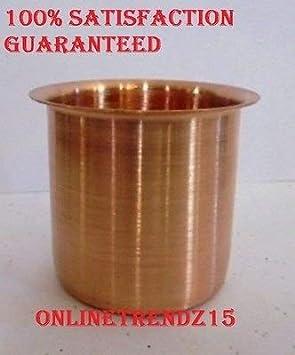 Ganga Water Lota accesorios de cocina de cobre para yoga ...