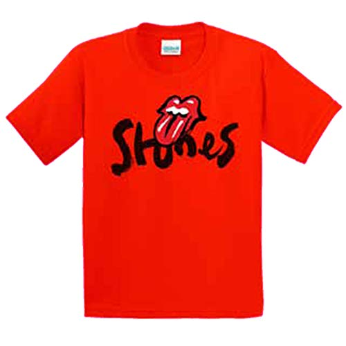 T-shirt Stone Youth (Rolling Stones NO Filter Tour Logo RED Youth T-Shirt)