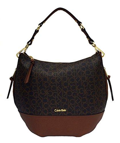Calvin Klein Handbag, Monogram Hobo by Calvin Klein