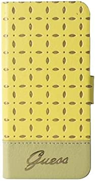 Guess GU325711 Leder Folio Case für Gianina Yellow: Amazon