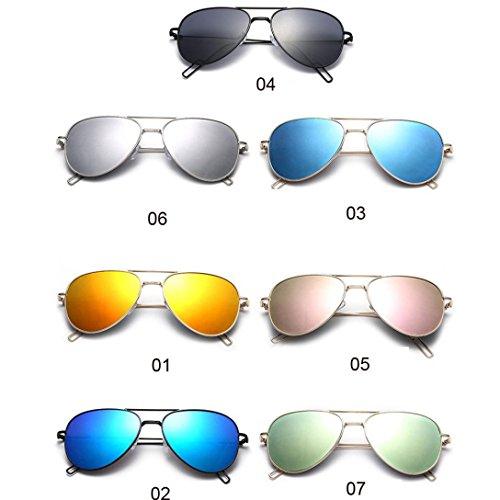 B Sol Anti Mujer de Controladores Gafas 2018 protección Nuevo Gafas Gafas Noche Reflexión de de Visión Color Unisexo Gafas Playa WINWINTOM Moda Manejo Verano Auto 6SwFIwqx