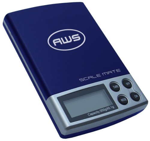 American Weigh Scale Scalemate Sm-201 Digital Pocket Scale,