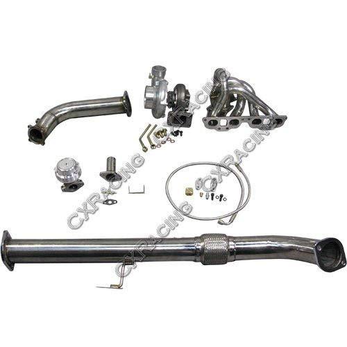 GT35 Top Mount Turbo kit For 240SX S13 S14 SR20DET xs-power