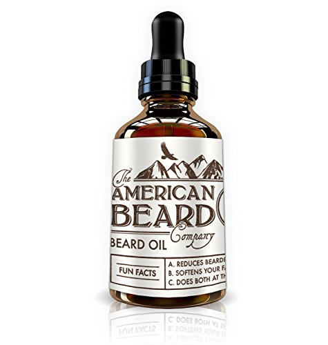 The American Beard Company Beard Oil and Leave-In Conditioner 1 fl oz/30 ml